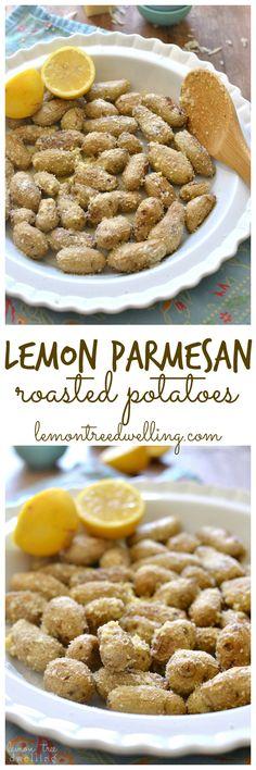 Lemon Parmesan Roasted Potatoes | Lemon Tree Dwelling
