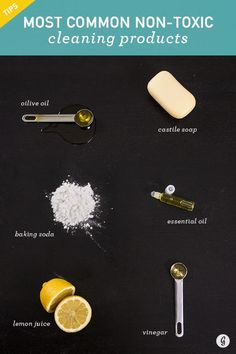 Avoid Dangerous Toxins and Save Money With These DIY Cleaning Recipes #natural #cleaning #diy