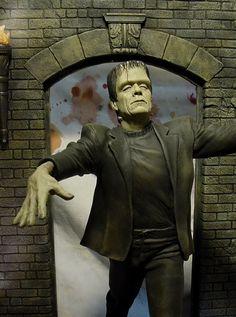 Cool Monsters, Horror Monsters, Famous Monsters, Classic Monsters, Horror Icons, Horror Art, Goosebumps Costume, Frankenstein's Monster, Monster Mask