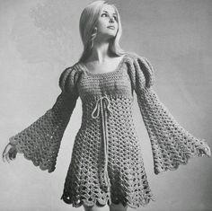 LadyHawke Crochet: JULIET DRESS