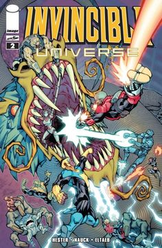 Invincible Universe #2 Cecil Steadman's bargain with Mr. Liu has taken a turn for the worst -- and now the greatest heroes of the Invincible Universe must defeat the dragon unleashed! But who will pay the cost for Cecil's choice?