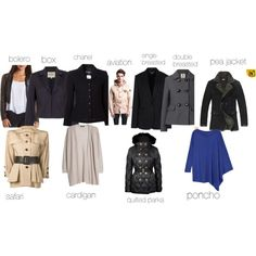 """jackets"" by ronantheaccuser on Polyvore"