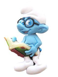 113 Jibbitz Smurfs Brainy Smurf 3000011-01458-0001