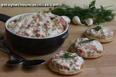 Receta de ktipiti (salsa de feta y pimiento asado para untar o mojar)