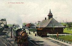 Union Pacific Depot, Kearney, Nebraska 1900s