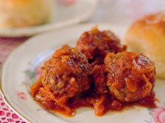 Get this all-star, easy-to-follow Porcupine Meatballs in Sauerkraut recipe from Damaris Phillips