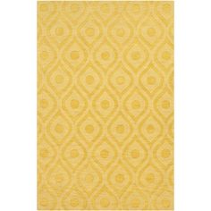 Found it at AllModern - Central Park Yellow Geometric Zara Area Rug