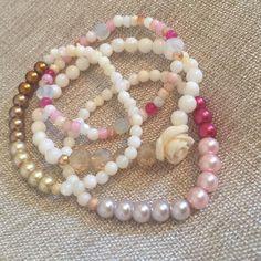 Rose Pearl Stacks
