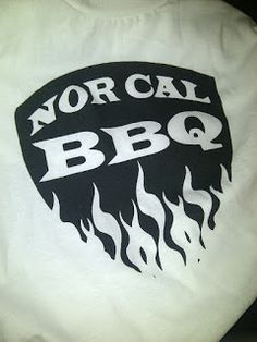 You know you want one. Nor Cal BBQ Shirts! Hit me up at info@buffalboysbbq.com to order.