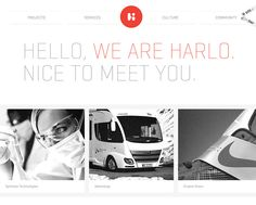 Harlo Interactive - CoolHomepages Web Design Gallery