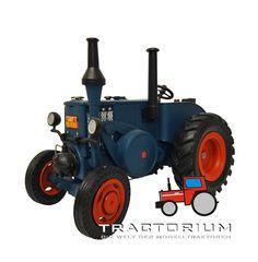 Mo Miniatur Lanz Bulldog Traktor 1/32