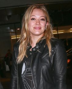 Hilary Duff at LAX Airport 10/15/2014
