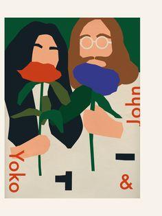 Illustrations for Milk X magazine by anna kövecses, via Behance