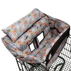 Buggy Bagg Elite Shopping Cart Cover (Fox)