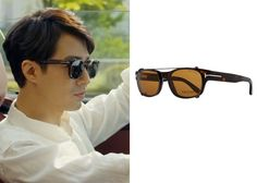 """Jo In-Sung 조인성 in """"It's Okay, That's Love"""" Episode 2.  Tom Ford Glasses with Clip-On Shades #Kdrama #ItsOkayThatsLove 괜찮아, 사랑이야 #JoInSung"""