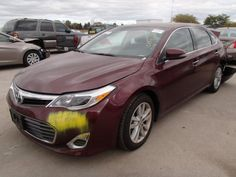 Salvage 2013 TOYOTA AVALON XLE   THIS IS A SALVAGE REPAIRABLE VEHICLE WITH REAR END DAMAGE . CAR RUNS , DRIVES , HAS LEATHER INTERIOR AND ALL AIRBAGS ARE INTACT. For more information and immediate assistance, please call +1-718-991-8888