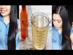 DIY Hair Rinse for Oil Scalp-Hair and Dandruff- How to Get Shinny and So...