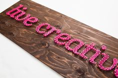 ideia para placa de madeira