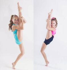 Maddie and Mackenzie Ziegler are amazing. Mackenzie is adorable. :)