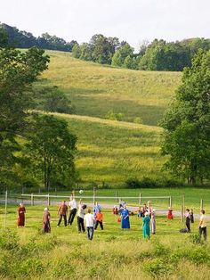 Amish at play. . . . . .  The 21,000 Amish in Holmes County belong to eight sects with varying degrees of conservatism.