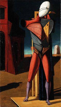 Giorgio de Chirico, Il trovatore, 1917.