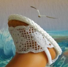 American Girl Doll vêtements sandales par sewgrandmacathy sur Etsy, $6.00