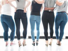 9 Jeans for Thick and Athletic Thighs That Won't Gap at the Waist