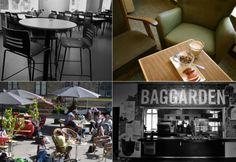 Cafe Baggården. Verdenskulturcentret´s baggård med bænke (eller indendørs cafe), danner rammen for et hyggeligt mødested for folk fra gaden, private arrangementer og for husets mangfoldige kulturliv. Cafeen tilbyder retter fra hele verden og har økologi og kvalitet i højsædet.