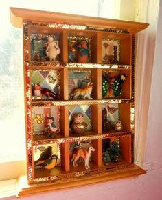 Luxury Curio Hanging Folding