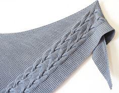 Ravelry: Tank Stream pattern by Meg Gadsbey Crochet Needles, Knit Crochet, Hand Knitting, Knitting Patterns, Scarf Patterns, Wool Yarn, Merino Wool, Knitted Shawls, Knit Scarves