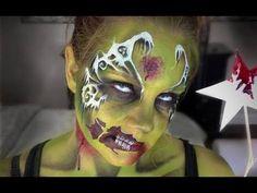 Zombie Fairy Makeup/Facepainting
