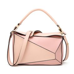 A handbag is a wardrobe staple for all women. This season get your hands on our Faux-Leather messenger bag. Make a statement with this dual colored pillow shaped saddle tote handbag. Made from high-quality synthetic leather this handbag is perfect for a night out or an evening party. Other unique features include: High