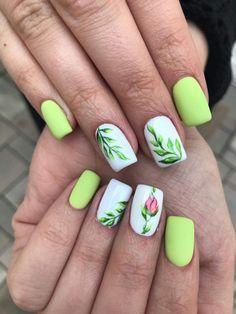 #mynails #springnaips