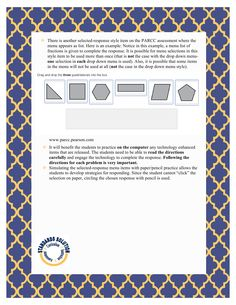 PARCC 4th Grade Math Lesson Plan Samples Pg.5