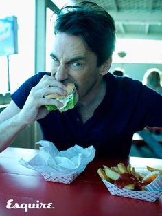 Jon Hamm - in the food category... But not for the burger.
