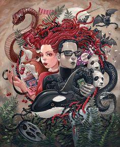Creative Illustrations by Aaron Jasinski