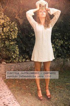 Gabriela Gastelumendi con vestido de La Intendencia para 15.50!!