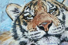 """Up Close"" oil painting by Linda Rous"