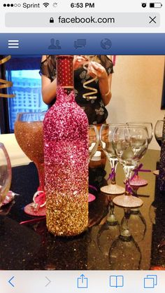 Bachelorette party GNO hotel bridal shower decor DIY Las Vegas