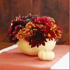 Beautifully Simple Thanksgiving Centerpieces | Restyling Home by Kelly