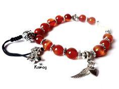 Gyógyító ásványok - KARNEOL - Kismag Dangles, Beaded Bracelets, House, Jewelry, Ideas, Carnelian, Jewellery Making, Jewerly, Jewelery