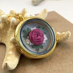 A personal favorite from my Etsy shop https://www.etsy.com/listing/264134432/gift-for-her-flower-pendant-flower
