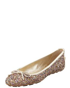 Walsh Glitter Ballerina Flat by Jimmy Choo at Bergdorf Goodman.
