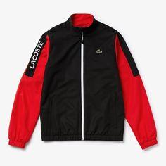 Men's Lacoste SPORT Light Colourblock Tracksuit | LACOSTE Lacoste Tracksuit, Lacoste Sport, Motorcycle Jacket, Adidas Jacket, Underwear, Zipper, Sports, Jackets, Clothes