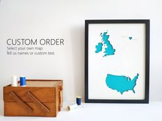 Custom Map Wall Art, Personalized Home Decor, Custom Wedding Gift, Housewarming Frame, Custom Text o Custom Wedding Gifts, 3d Laser, Personalized Wall Art, 3d Wall Art, Custom Map, Map Art, House Warming, Paper Texture, How To Memorize Things