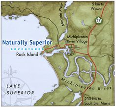 Home Sweet home Rock Island, Lake Superior, Maps, River, Sweet, Map, Peta, Rivers, Cards