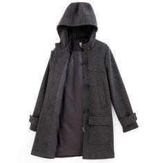 Duffle coat femme en drap de laine - Somewhere