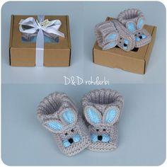 Knitting Basics, Knitting Stitches, Baby Knitting, Crochet Baby, Knit Crochet, Baby Booties, Baby Shoes, Slipper Boots, Craft Fairs