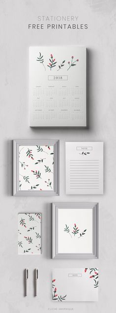 Stationery - Free Printables