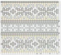 Fair Isle Knitting Pattern.